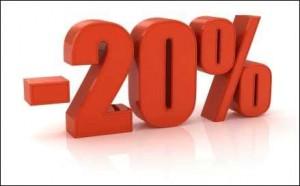 Am 27.12.  -20% auf alles ...