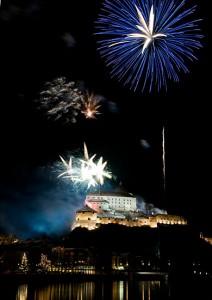 Feuerwerk HTH Vorsilvester Kufstein 2008