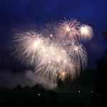 HTH-Brilliantfeuerwerk: Feuerwerk in Kirchberg begeistert die Zuschauer