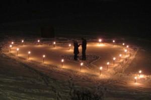 Hochzeitsfeuerwerk im Zillertal