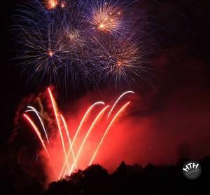 Feuerwerk in Seefeld