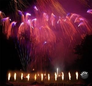 Brilliantfeuerwerk im Herzen der Kitzbühleralpen!