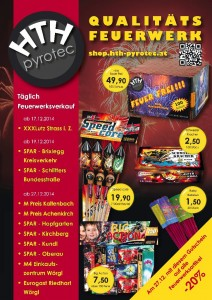 HTH pyrotec Postwurf Silvester 2014