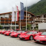 Ferraritreffen Sölden